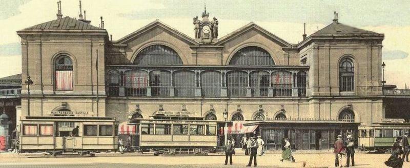Gare montparnasse paris vu du train - Bureau de change paris gare de l est ...