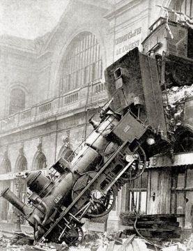 Gare montparnasse paris vu du train - Traverse de chemin de fer occasion ...